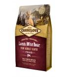 Carnilove Lamb & wild Boar - Chat adulte stérilisé (sac abîmé) 6 kg