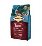 Carnilove - Saumon - peaux sensibles et poils longs (sac abîmé) 2kg