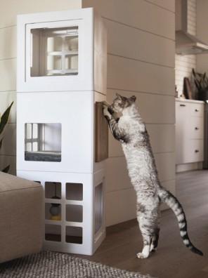 Griffoir pour arbre à chats KATT3 de BeOneBreed