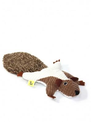 Peluche écureuil garnie d'herbe à chat et clochette BeOneBreed