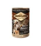 Carnilove Boîte chien Venison & Reindeer 400g