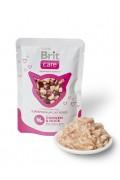 BRIT CARE POUCHES Poulet & Canard - Aliment humide pour chats