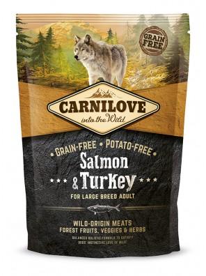 Carnilove Salmon & Turkey Large Breed Adult 1,5kg DLUO 08/2019