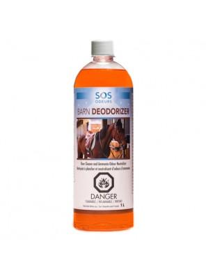 SOS ODEURS Barn Deodorizer - Nettoyant et neutralisant d'odeurs professionnel