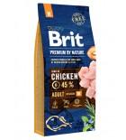 BRIT PREMIUM by Nature - Adult M - 15 kg
