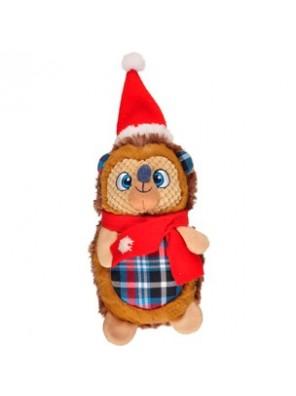 Hérisson de Noël en peluche 38 cm