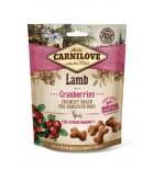 CARNILOVE Crunchy Snack pour chien - Agneau et airelles (200 g)