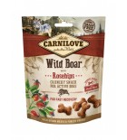 CARNILOVE Crunchy Snack pour chien - Sanglier et cynorhodons (200 g)