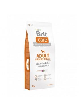 BRIT CARE Adult Medium, Lamb & Rice (sac abîmé) 12 kg