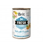 BRIT FRESH - CAN DOG - FISH WITH PUMPKIN - 400G