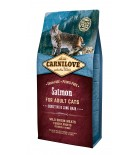 Carnilove Cat - Salmon (peau sensible et poils longs)