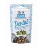 BRIT CARE Chat - Functional Snack - Santé bucco-dentaire (50 g)