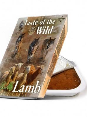 TASTE OF THE WILD Tray Lamb & Chicken - Barquette pour chien à l'agneau et poulet (390g)