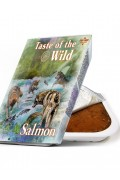 TASTE OF THE WILD Tray Salmon & Herring - Barquette pour chien au saumon et hareng (390g)