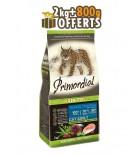 PRIMORDIAL Adult Cat - Saumon & Thon (2kg+800g OFFERTS)