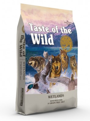 TASTE OF THE WILD Wetlands (sac abîmé) 12,2 kg