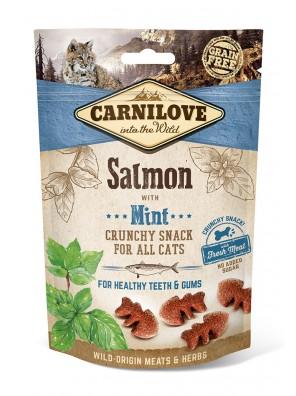 CARNILOVE Crunchy Snack - Saumon & Menthe, pour chats (50 g)