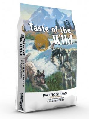 TASTE OF THE WILD Pacific Stream Puppy (sac abîmé) 12,2 kg