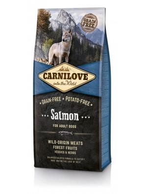 CARNILOVE DOG Salmon, Adult (sac abîmé) 12 kg