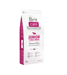 BRIT CARE Junior Large Breed Lamb & Rice - 12 kg (sac abîmé)